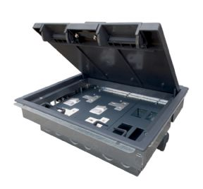 CFB113 - 3 compt OPP Compact Contractor Floorbox